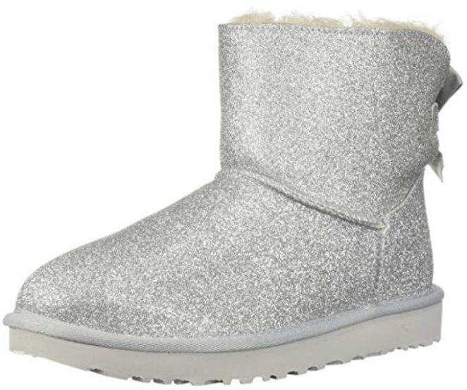 UGG Mini Bailey Bow Sparkle Best Glitter Shoes