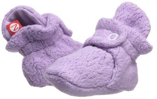 Zutano Cozie Best Crib Shoes