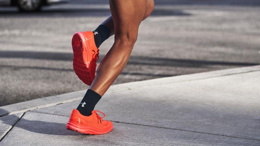 feet go numb when running