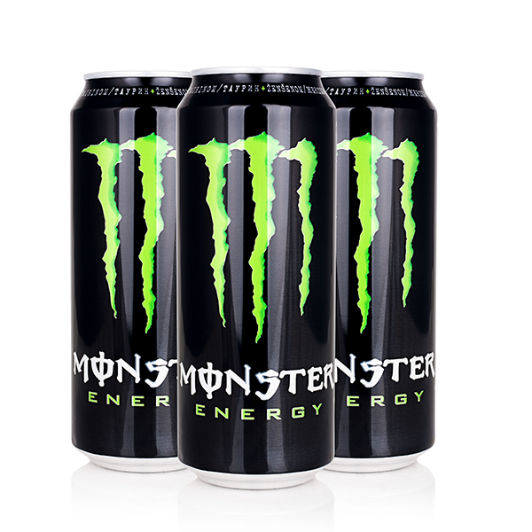 Monster Energy Drink which absolutaly will give you a mega boost of energy