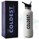 The Coldest Water insulated water bottle white